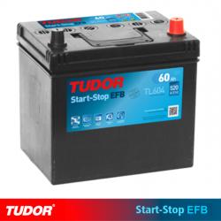 BATERÍA TUDOR EFB TL604 START STOP 60Ah 520A