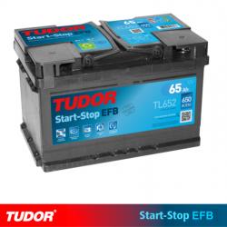BATERÍA TUDOR EFB TL652 START STOP 65AH 650A