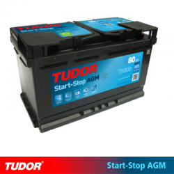 BATERÍA TUDOR AGM TK800 START STOP 80Ah 800A