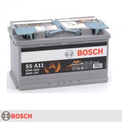 BATERÍA BOSCH S5A11 START STOP 80Ah 800A