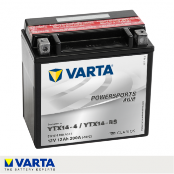 BATERÍA VARTA POWERSPORT...